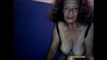 Hooker granny 80 open bawdy cleft